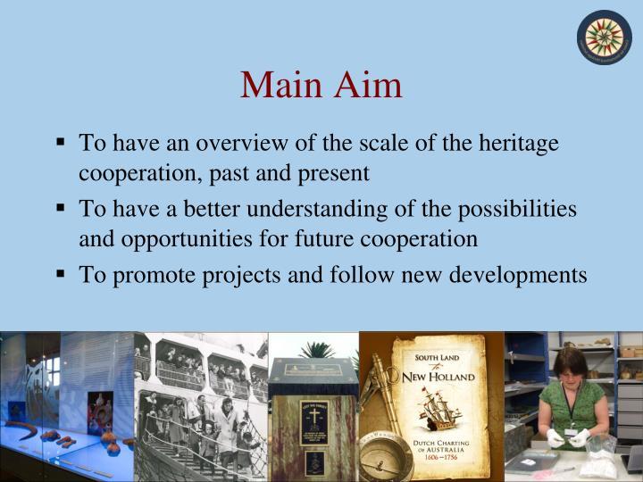 Main Aim