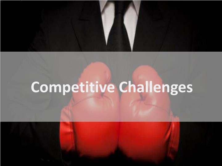 Competitive Challenges