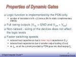 properties of dynamic gates
