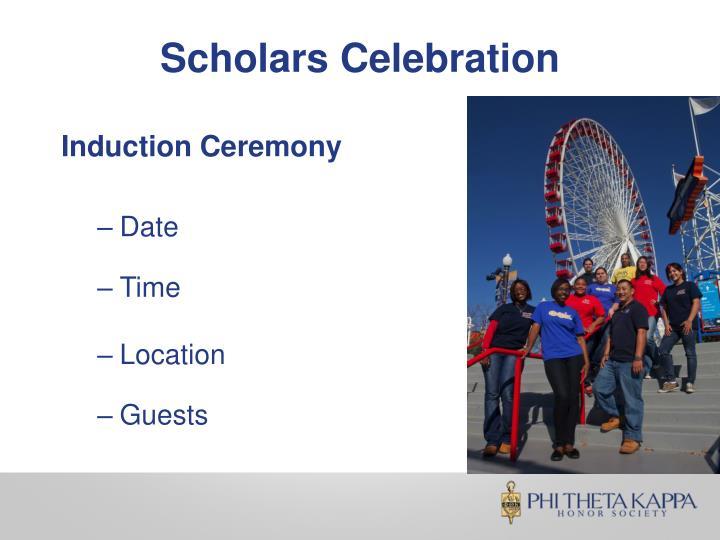 Scholars Celebration