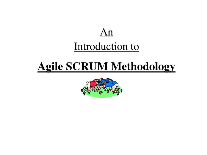 an introduction to agile scrum methodology n.