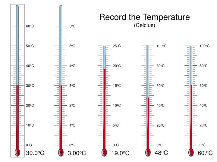 Record the Temperature