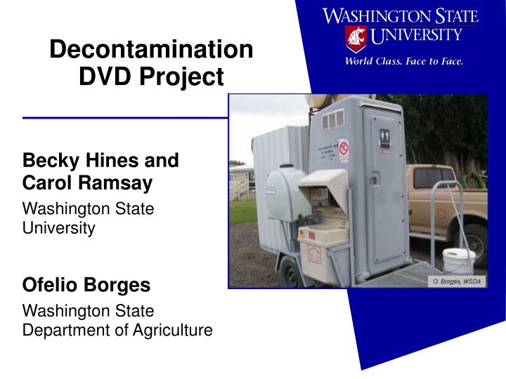 decontamination dvd project n.