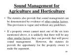 sound management for agriculture and horticulture6