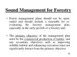 sound management for forestry8