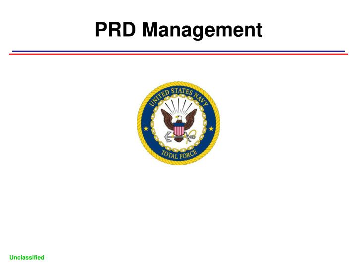 PRD Management