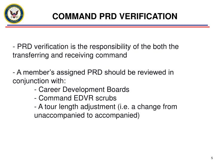 COMMAND PRD VERIFICATION