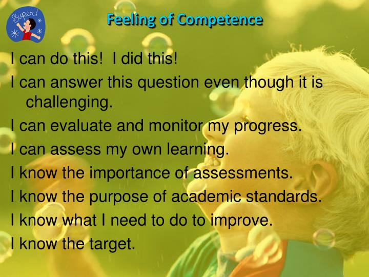 Feeling of Competence