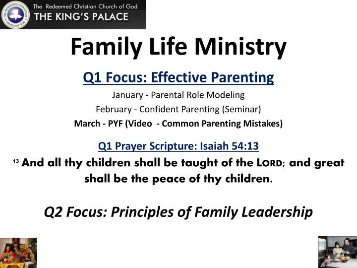 family life ministry n.