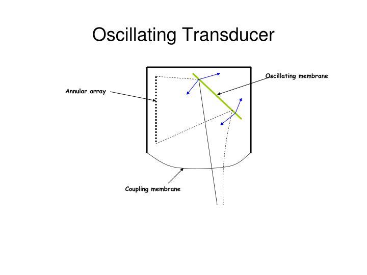 Oscillating Transducer