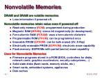 nonvolatile memories