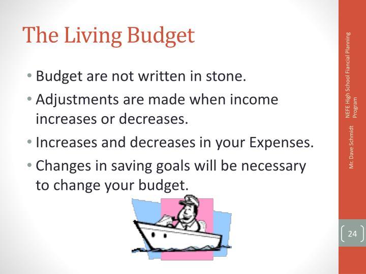 The Living Budget