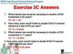 exercise 3c answers