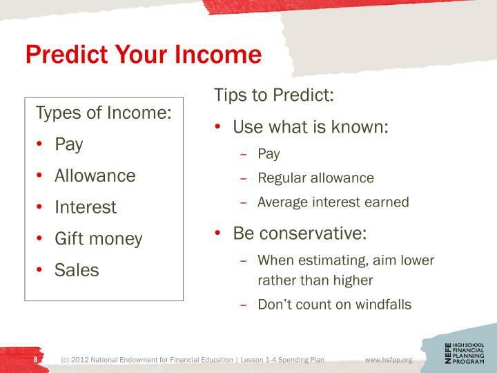 Predict Your Income