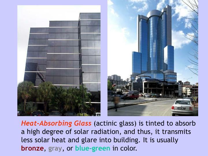 Heat-Absorbing Glass