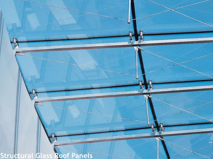 Structural Glass Roof Panels