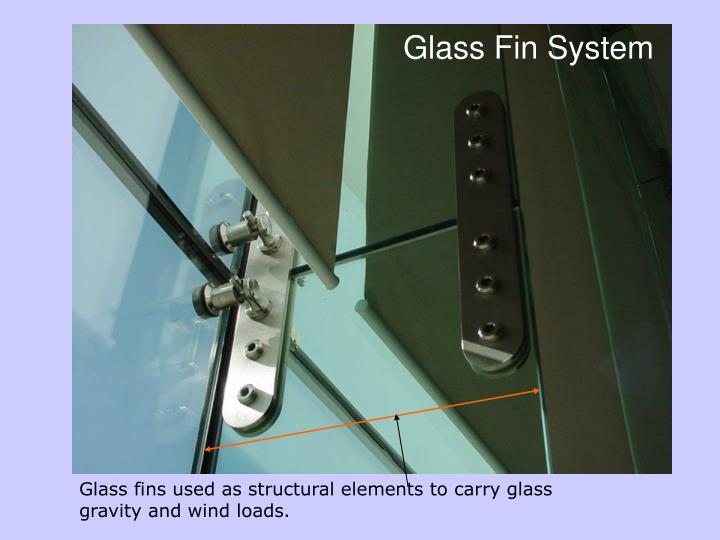 Glass Fin System