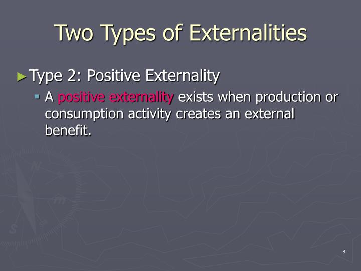 Two Types of Externalities
