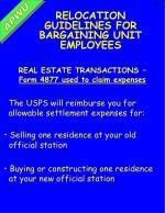 relocation guidelines for bargaining unit employees