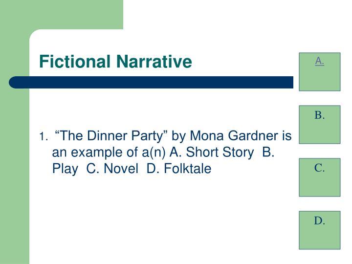 Fictional narrative