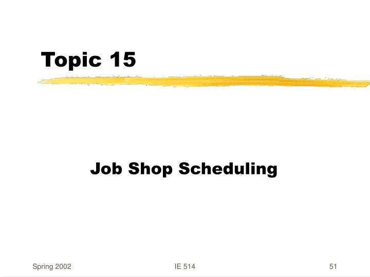 Topic 15