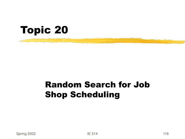 Topic 20