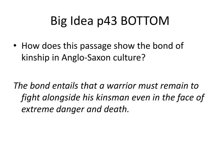 Big Idea p43 BOTTOM