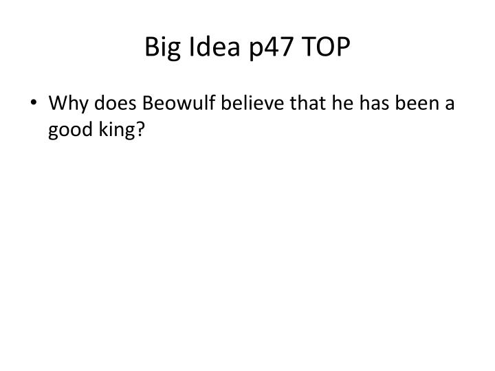 Big Idea p47 TOP