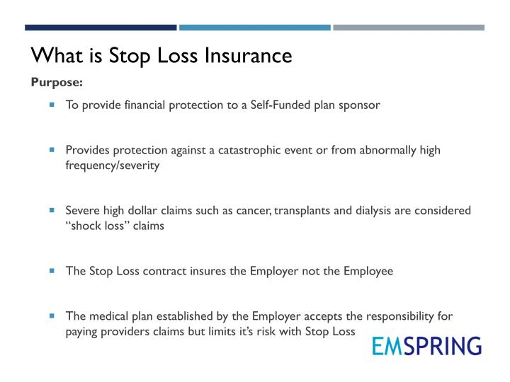 What is Stop Loss Insurance
