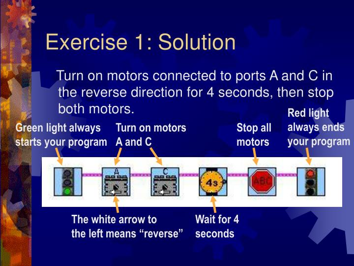 Exercise 1: Solution