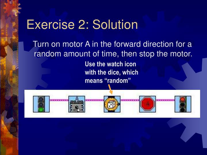 Exercise 2: Solution