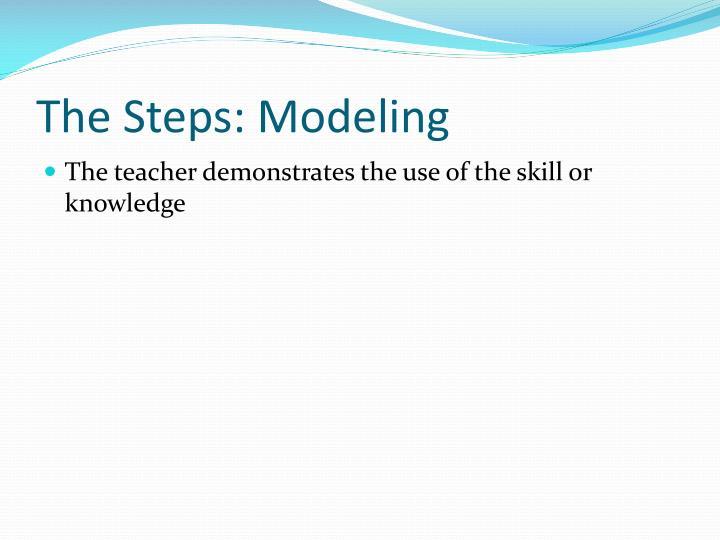 The Steps: Modeling