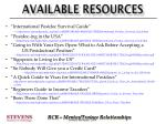 available resources1