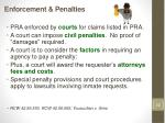 enforcement penalties