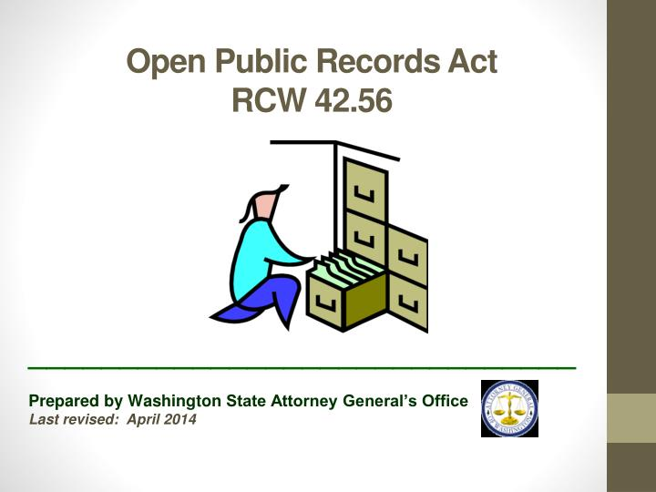 open public records act rcw 42 56 n.