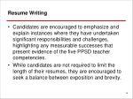 resume writing1