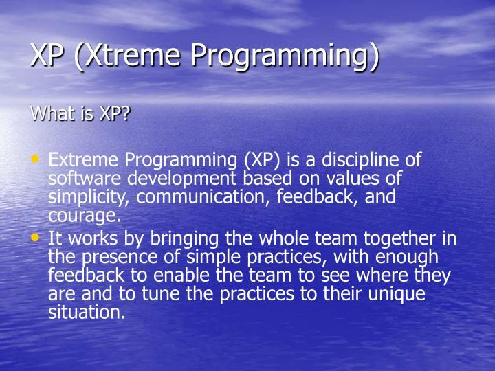 XP (Xtreme Programming)