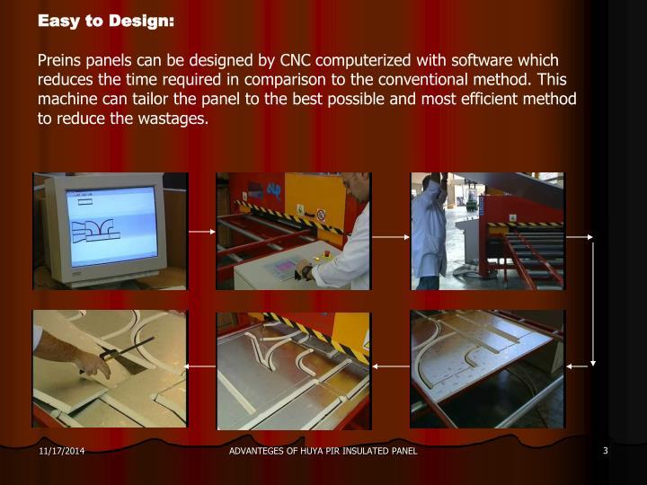 Easy to Design: