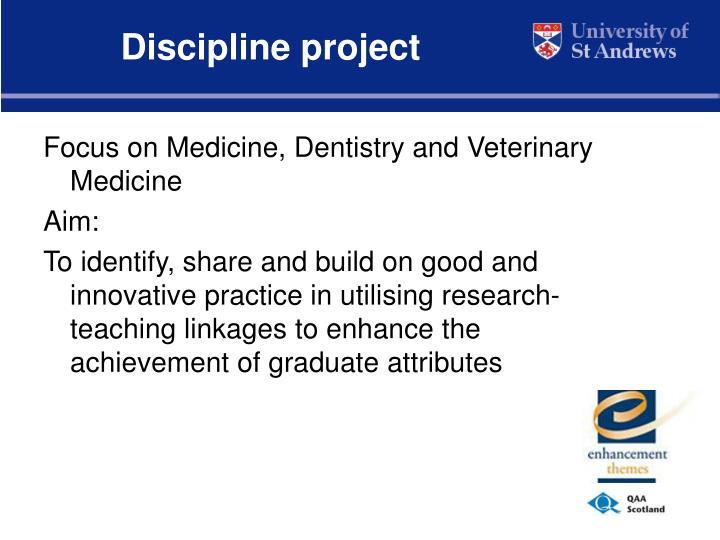 Discipline project