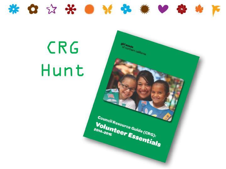 CRG Hunt