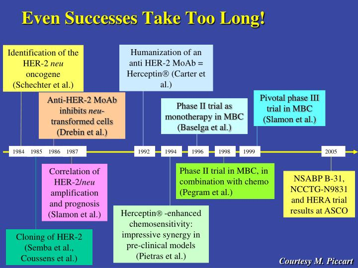 Even Successes Take Too Long!