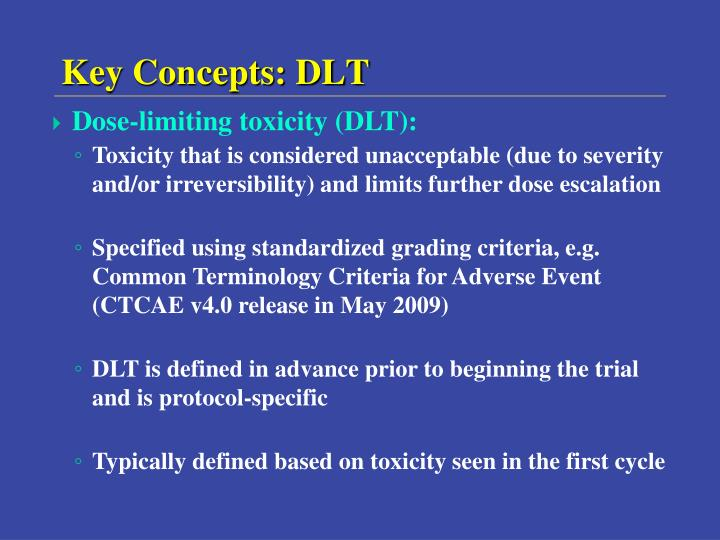 Key Concepts: DLT