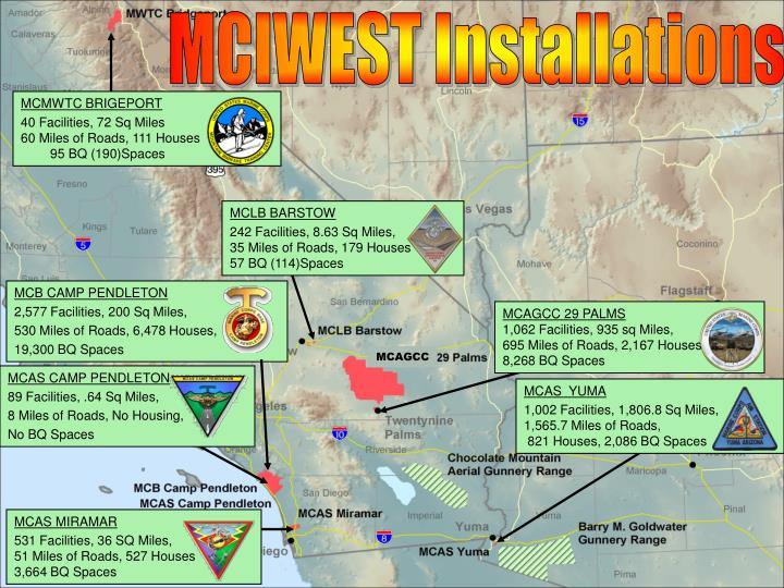 MCIWEST Installations