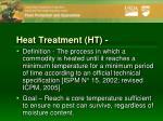 heat treatment ht