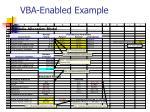 vba enabled example