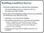 building condition survey