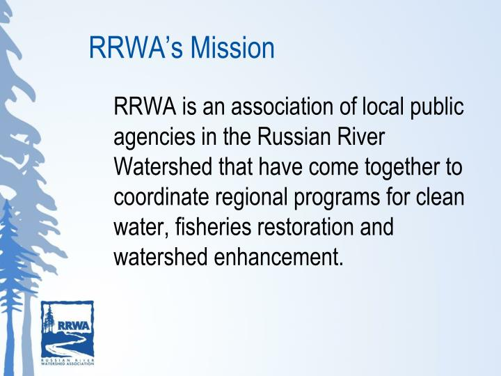 RRWA's Mission