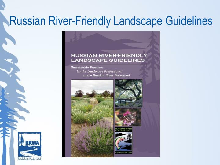 Russian River-Friendly Landscape Guidelines