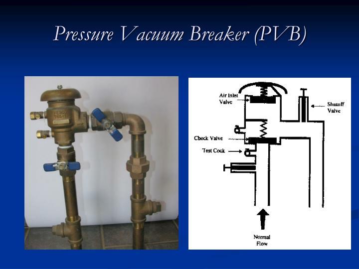 Pressure Vacuum Breaker (PVB)