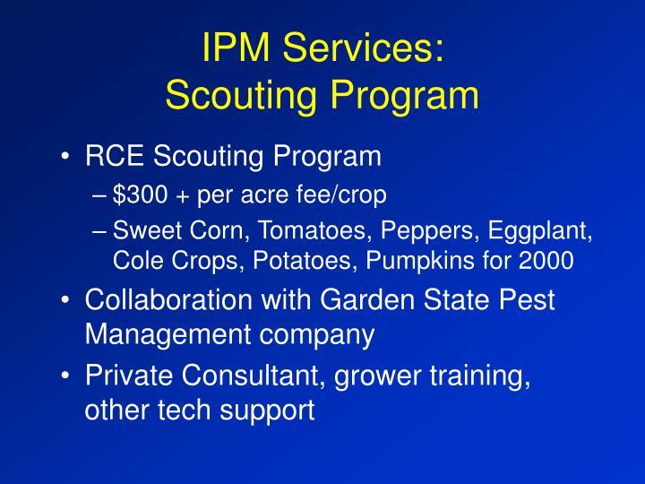 IPM Services: